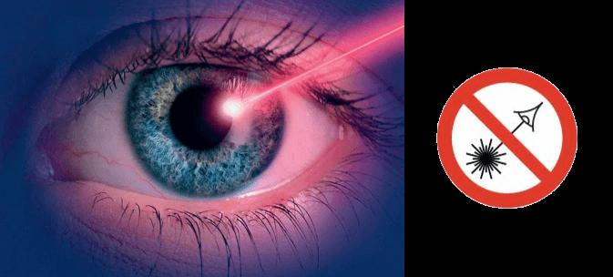 Danger pointeur laser Loisirs Plaisirs