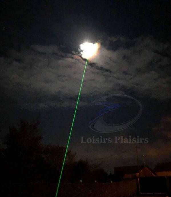 Pointeur laser vert 100mW autorisé en France