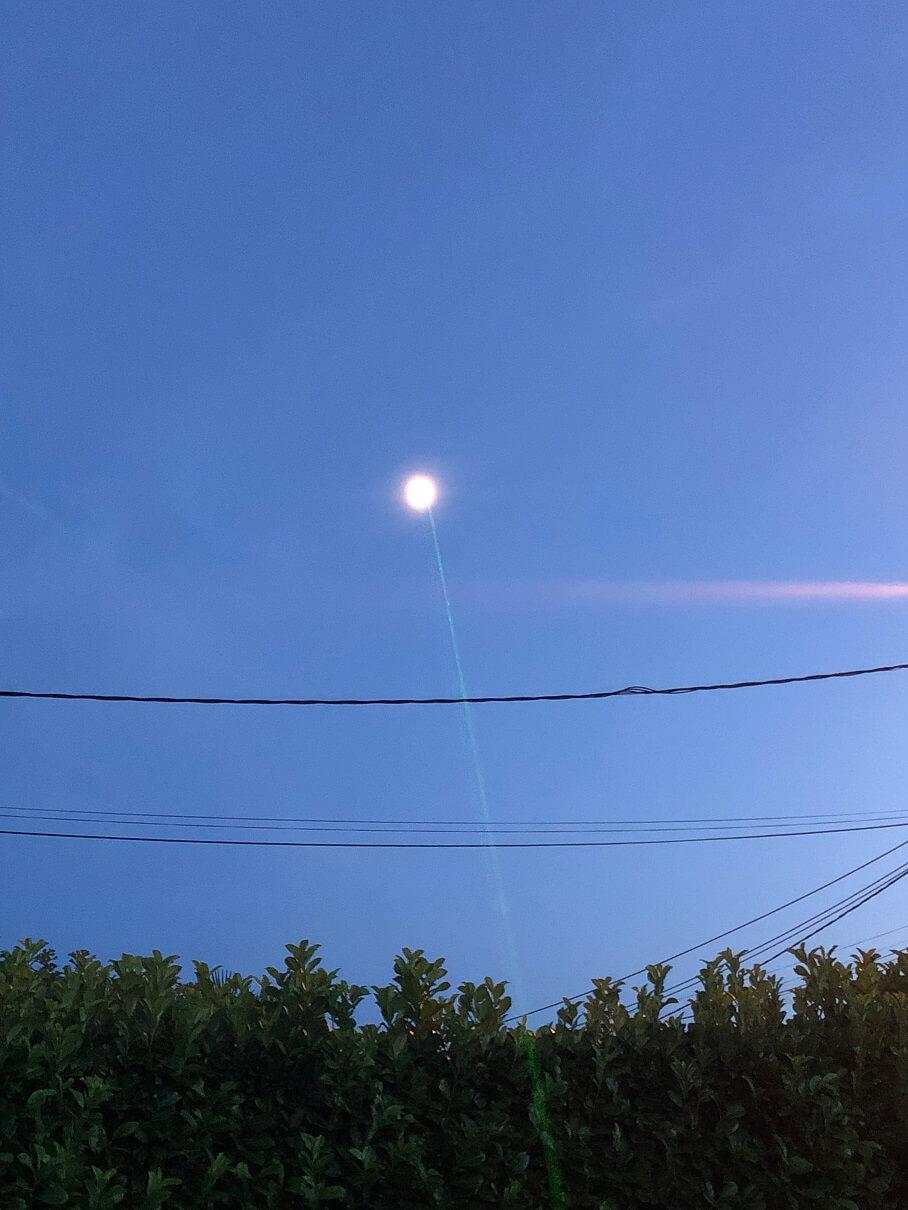 Pointeur laser vert pour l'astronomie